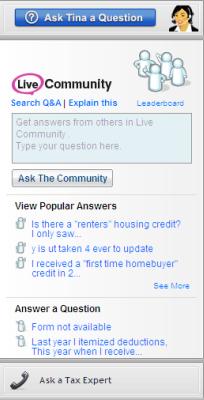 Live Community Sidebar