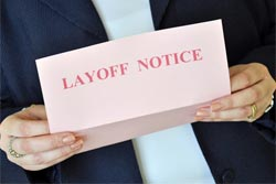 layoff notice pink slip