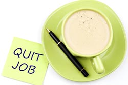quit job coffee